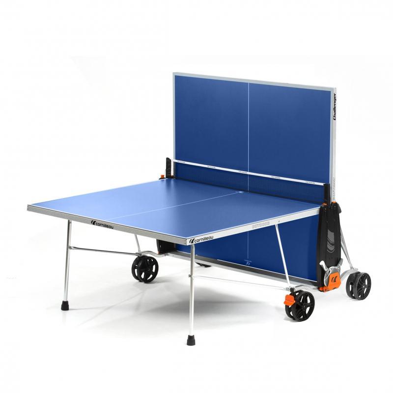 Masa tenis Cornilleau Challenger Outdoor, albastru